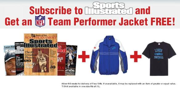 sports illustrated promotion - click to enlarge