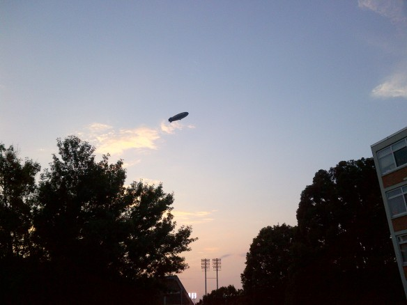 blimp at clemson